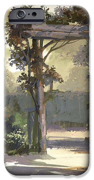 Descanso Gardens iPhone Case by Michael Humphries