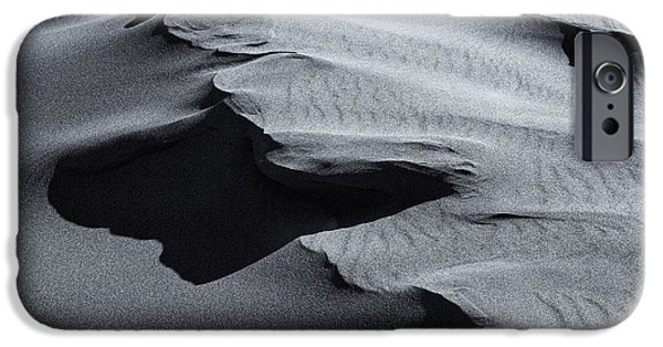 Sand Dunes iPhone Cases - Desert Contours iPhone Case by Mike  Dawson