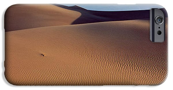 Sand Dunes iPhone Cases - Desert Death Valley Ca Usa iPhone Case by Panoramic Images