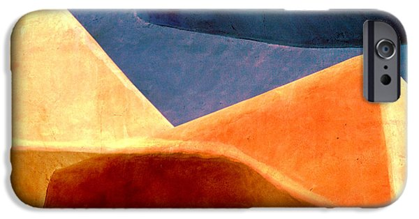 Sand Dunes iPhone Cases - Desert Dunes Number 2 iPhone Case by Carol Leigh