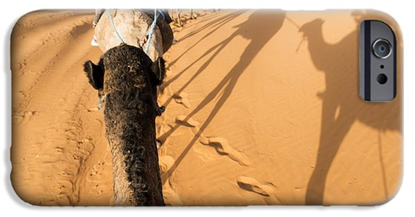 Sand iPhone Cases - Desert excursion iPhone Case by Yuri Santin