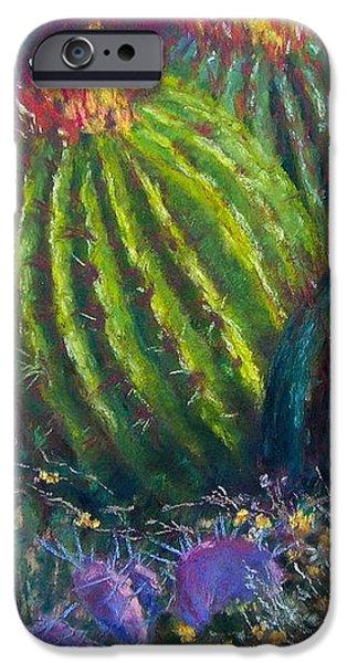 Desert Garden iPhone Case by Sharon Frey