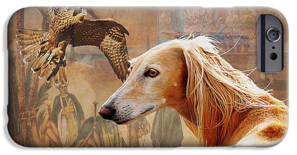 Judy Wood Digital Art iPhone Cases - Desert Heritage iPhone Case by Judy Wood