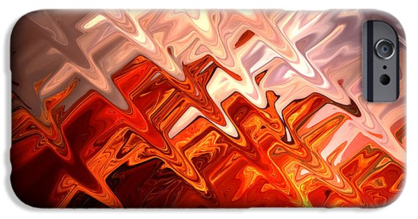 Abstract Digital Photographs iPhone Cases - Desert Light iPhone Case by Aidan Moran