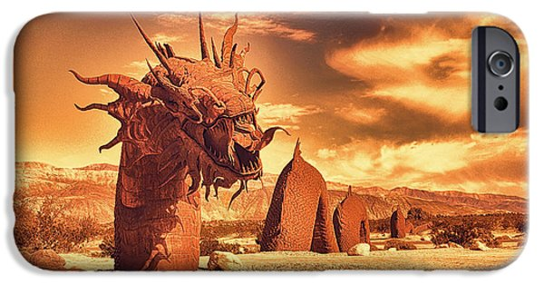 Recently Sold -  - Serpent iPhone Cases - Desert Ness iPhone Case by Douglas MooreZart