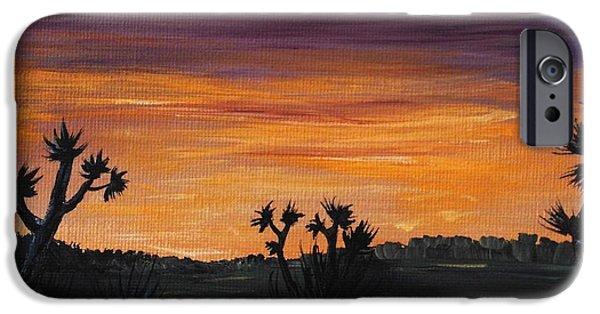 Anastasiya Malakhova iPhone Cases - Desert Night iPhone Case by Anastasiya Malakhova