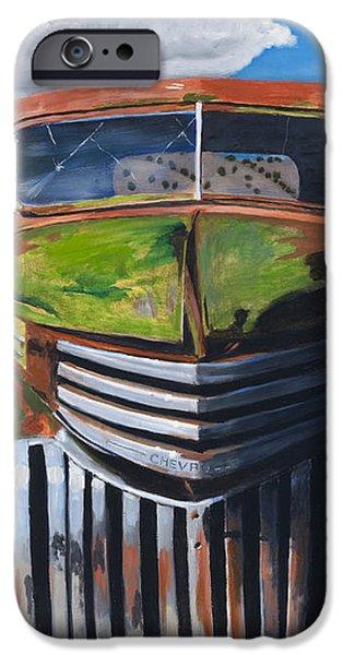 Desert Varnish iPhone Case by Jack Atkins