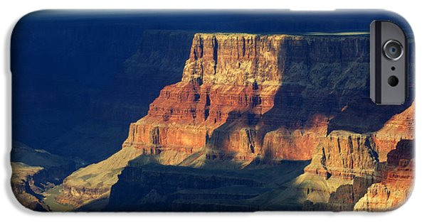 Grand Canyon iPhone Cases - Desert View Grand Canyon 2 iPhone Case by Bob Christopher