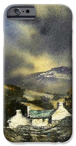 Deserted Farm West Cork iPhone Case by Roland Byrne