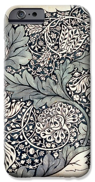 Nineteenth iPhone Cases - Design for Avon Chintz iPhone Case by William Morris