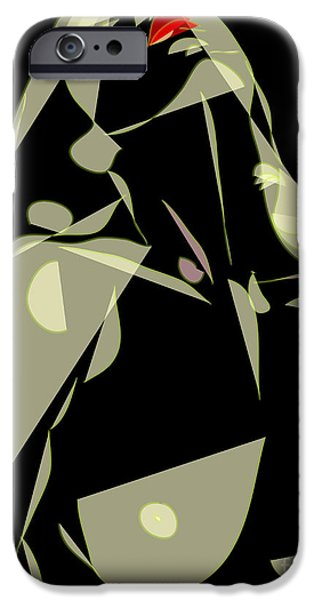 Desire for a ..... Celestial Love... iPhone Case by Frank  Gulsftream