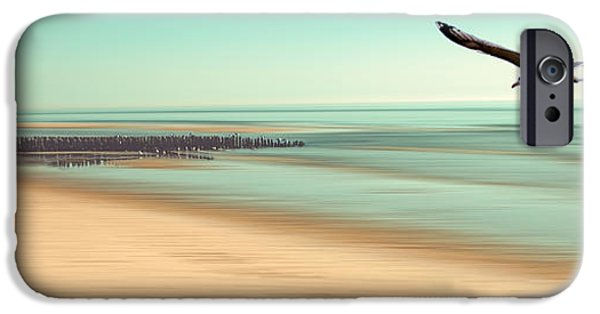 North Sea iPhone Cases - Desire - Light iPhone Case by Hannes Cmarits