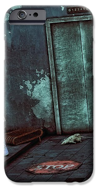 Desolation iPhone Case by Jutta Maria Pusl