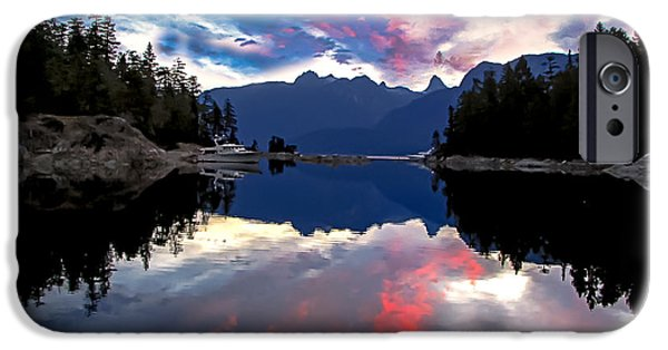Recently Sold -  - Haybale iPhone Cases - Desolation Sound iPhone Case by Robert Bales