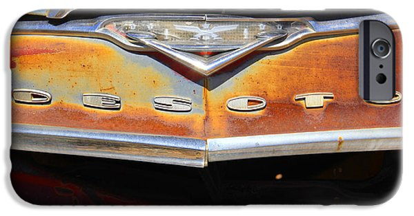 Rust iPhone Cases - Desoto 2 iPhone Case by Mike McGlothlen
