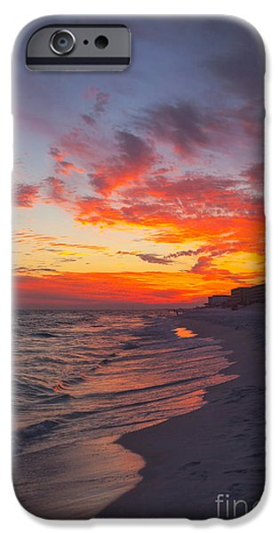 Destin Sunset iPhone Case by Kay Pickens