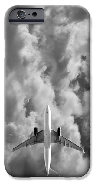 Flight iPhone Cases - Destination Unknown iPhone Case by Mark Rogan