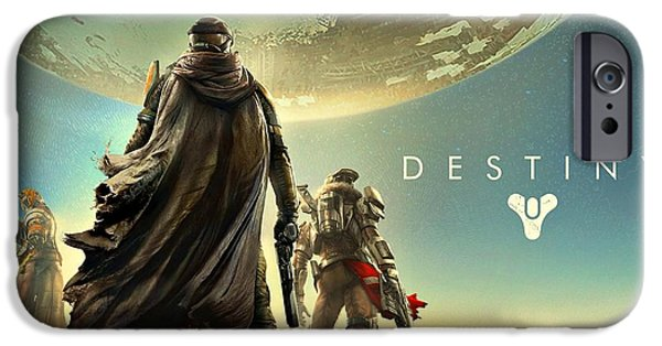 Destiny iPhone Cases - Destiny 1  iPhone Case by Movie Poster Prints