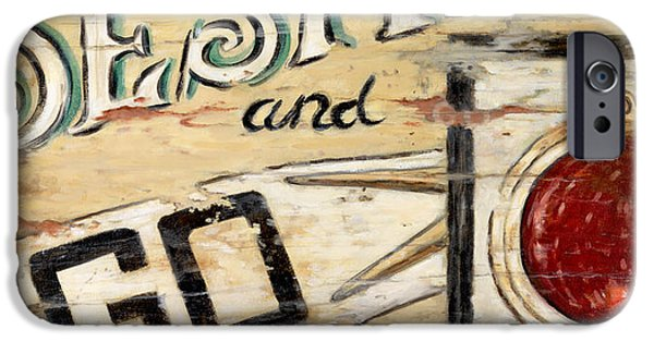 Destiny Paintings iPhone Cases - Destiny iPhone Case by Janet  Kruskamp