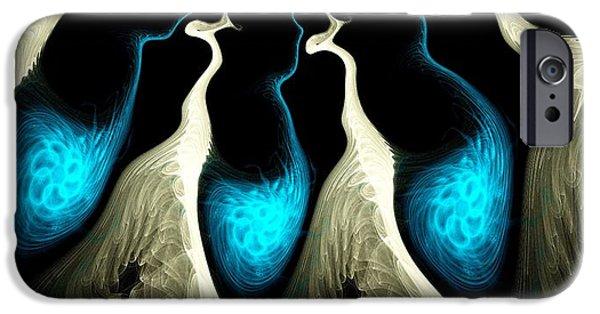 Turquoise iPhone Cases - Detached iPhone Case by Anastasiya Malakhova