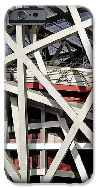 Detail of the Beijing National Stadium iPhone Case by Brendan Reals