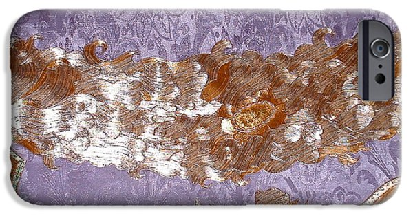 Abstractions Tapestries - Textiles iPhone Cases - Detail  Zen Kit and Kaboodle iPhone Case by Dan A  Barker