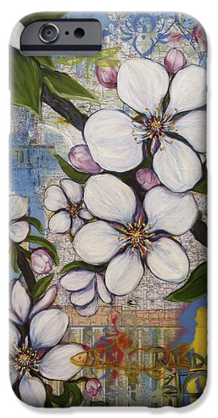 Detroit Blooms iPhone Case by Andrea LaHue aka Random Act