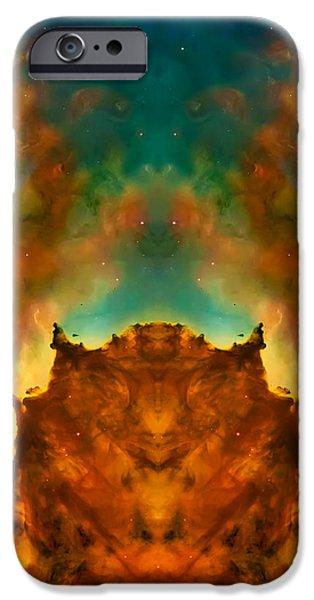 Devil Nebula iPhone Case by The  Vault - Jennifer Rondinelli Reilly