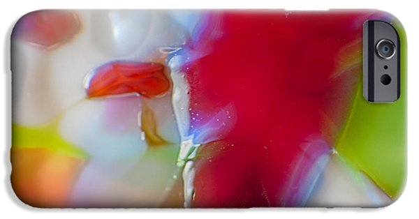 Fine Abstract Glass iPhone Cases - Devil Within iPhone Case by Omaste Witkowski