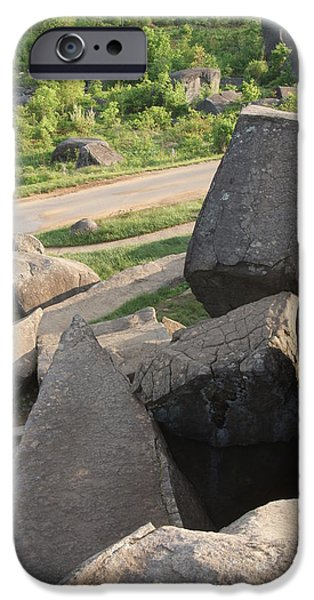 Bloody Battle iPhone Cases - Devils Den Gettysburg Pa iPhone Case by Rob Luzier