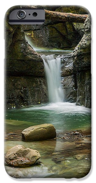 Devil iPhone Cases - Devils Pass canyon iPhone Case by Davorin Mance