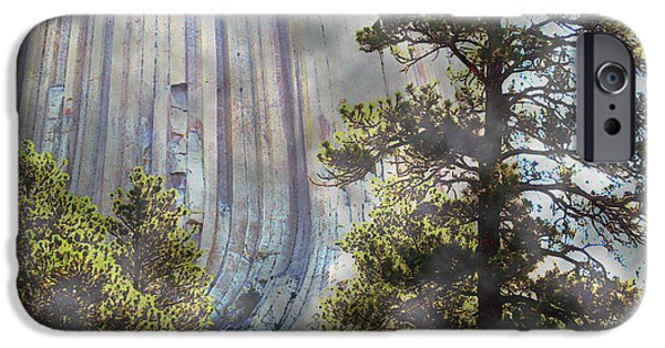 Ann Johndro-collins iPhone Cases - Devils Tower Wyoming iPhone Case by Ann Johndro-Collins