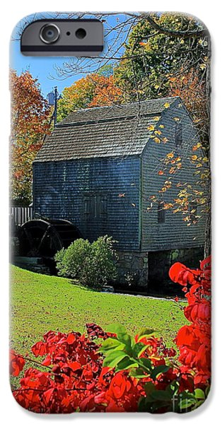 Grist Mill iPhone Cases - Dexters Grist Mill iPhone Case by Amazing Jules