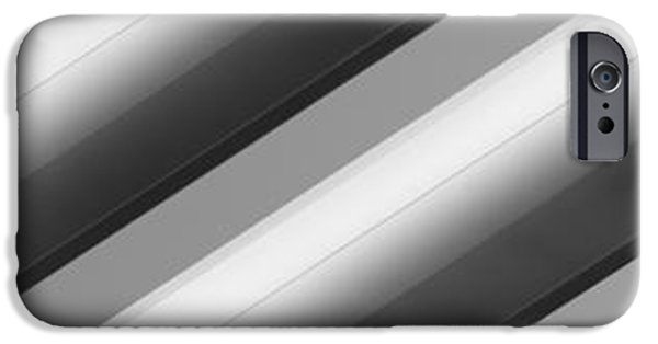 Diagonal iPhone Cases - Diagonal Lines iPhone Case by Darryl Dalton