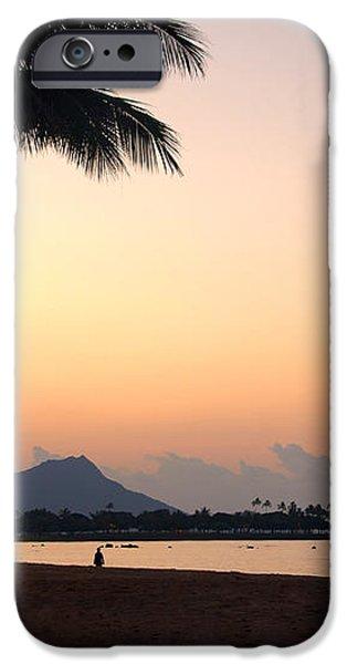 Diamond Head Sunrise - Honolulu Hawaii iPhone Case by Brian Harig