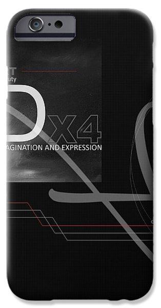 DIGITAL AGE X4 iPhone Case by Franziskus Pfleghart