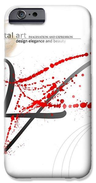 Digital Art 3.0 iPhone Case by Franziskus Pfleghart