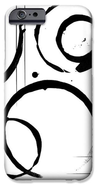 Abstract Digital Mixed Media iPhone Cases - Dignity iPhone Case by Melissa Smith