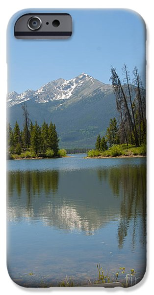 Reservoir iPhone Cases - Dillon Lake iPhone Case by Juli Scalzi