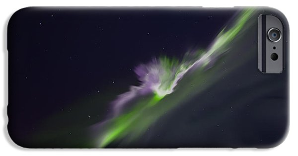 Aurora iPhone Cases - Dimension iPhone Case by Ed Boudreau