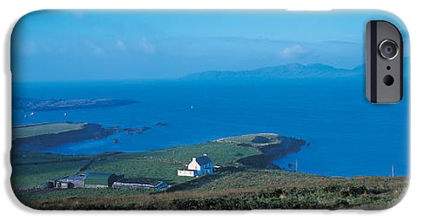 Mountain iPhone Cases - Dingle Peninsula Ireland iPhone Case by Panoramic Images