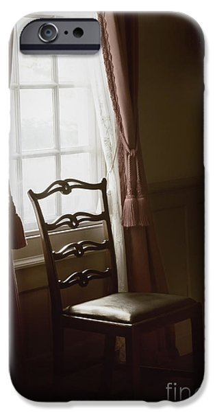 Dining Room Window iPhone Case by Margie Hurwich