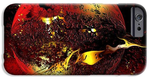 Jewellery Digital Art iPhone Cases - Dinyx iPhone Case by Franziskus Pfleghart