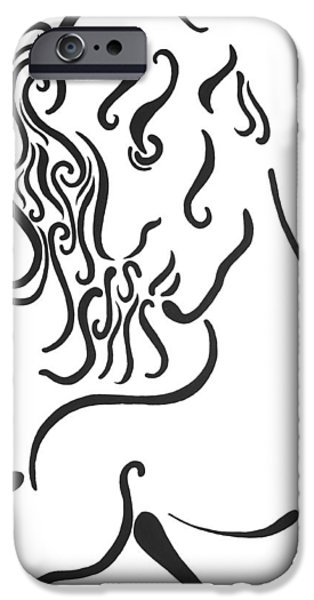 Fertility Paintings iPhone Cases - Dionysus iPhone Case by Roger Hanson