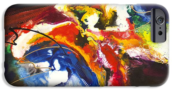 Recently Sold -  - Abstract Expressionist iPhone Cases - Directional Shift iPhone Case by Jonas Gerard