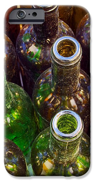 Dirty Bottles iPhone Case by Carlos Caetano