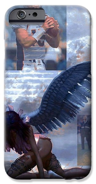Discarded Angel iPhone Case by M and L Creations