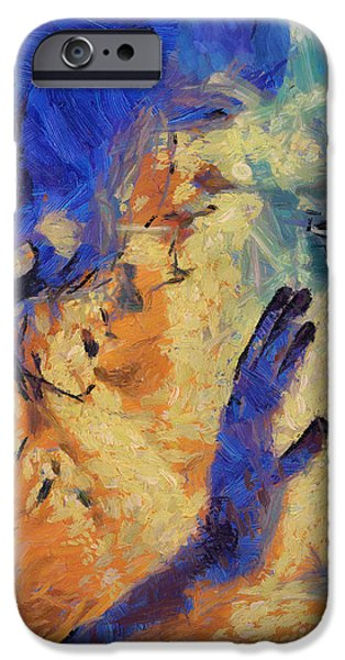Self Discovery Digital Art iPhone Cases - Discovering Yourself iPhone Case by Joe Misrasi