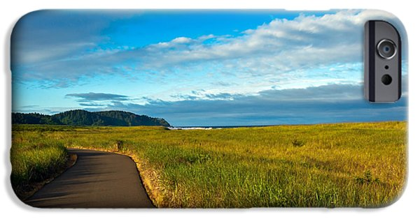 Seacapes iPhone Cases - Discovery Trail iPhone Case by Robert Bales