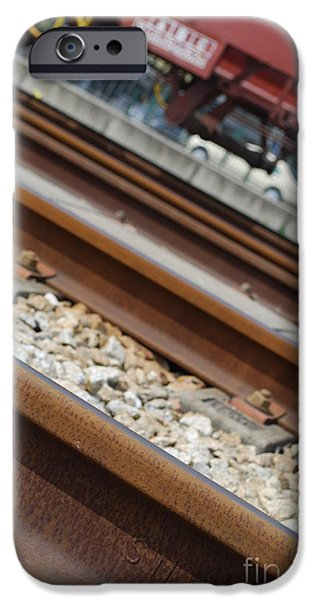 Dismantled Train Station iPhone Case by Luis Alvarenga